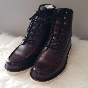 Men's FRYE Dawson Wedge Leather Workboots 10.5M